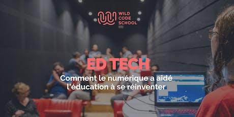 EdTech : Comment le numérique a aidé l'éducation à se réinventer ? Tickets