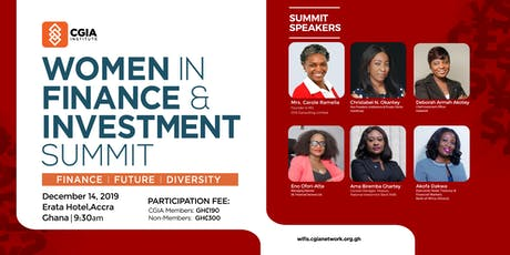 Women in Finance & Investment Summit tickets