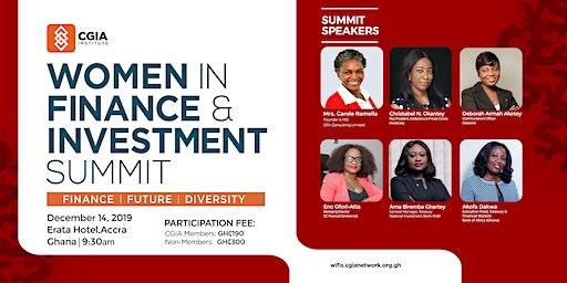 Women in Finance & Investment Summit