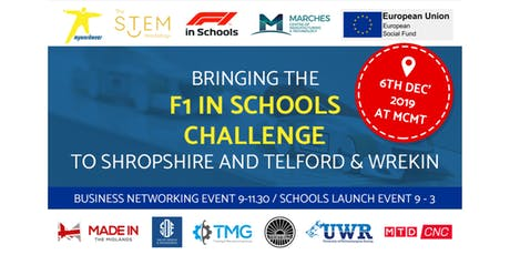 F1 in Schools - MCMT & Myworkwear Networking Event tickets
