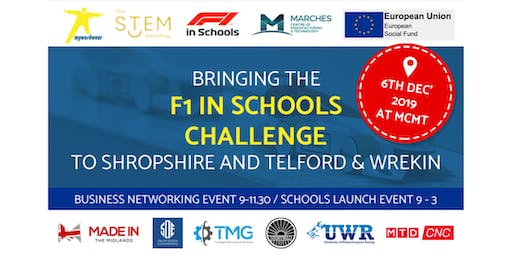 F1 in Schools - MCMT & Myworkwear Networking Event