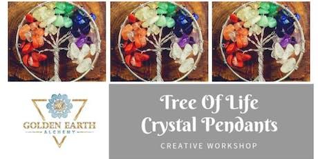 Tree of Life Crystal Pendant Workshop tickets