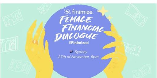 Female Financial Dialogue #Finimized, Sydney