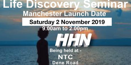 Manchester Launch: Life Discovery Seminar tickets