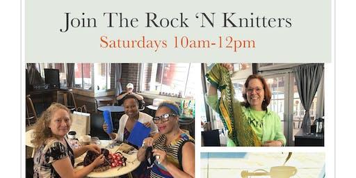 Rock'n Knit at Rock'n Joe Coffee