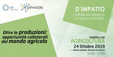 AGRICOLTURA Sharing Lab - Expandere 2019