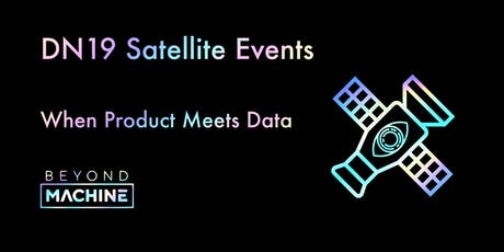 The intersection of Product and Data- When Product Meet Data tickets