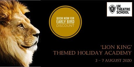 'Lion King & Disney' Themed Holiday Academy tickets