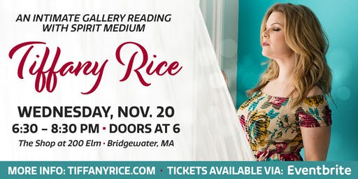 Holiday Gallery Reading with Tiffany Rice