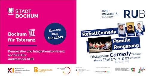 Bochum für Toleranz - Demokratie- und Integrationskonferenz 2019