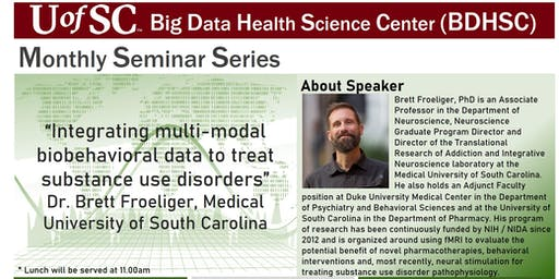UofSC BDHSC's Monthly Seminars