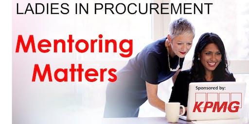 Ladies in Procurement - Mentoring Matters