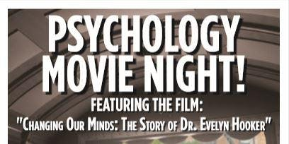 """Changing Our Minds: The Story of Dr. Evelyn Hooker."" Movie Event"