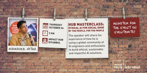 Hub Masterclass - Ethical AI for Social Good, by the People, for the People