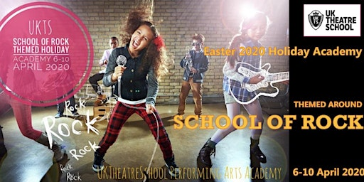 'School of Rock' Themed Holiday Academy