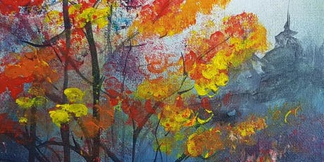 Sip & Paint with Sharon: Coffee, Cake & Canvas tickets