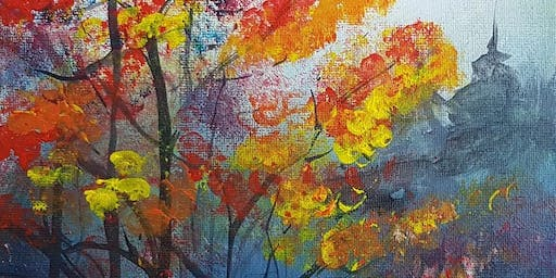 Sip & Paint with Sharon: Coffee, Cake & Canvas