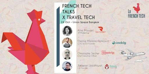 French Tech Bangkok Talks X Travel Tech