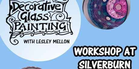 Decorative Glass Painting Workshop at Silverburn Park // Arts and Crafts tickets