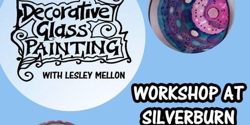 Decorative Glass Painting Workshop at Silverburn Park // Arts and Crafts