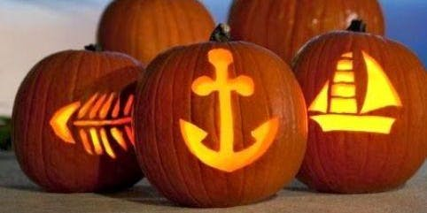 Seascope Lobster Hatchery ~ Deep Sea Pumpkin Carving