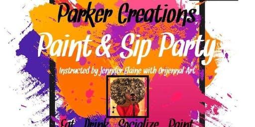 Sip n Paint Party