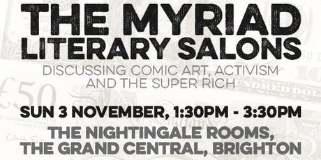 The Myriad Literary Salon with Robin Ince and Darryl Cunningham tickets