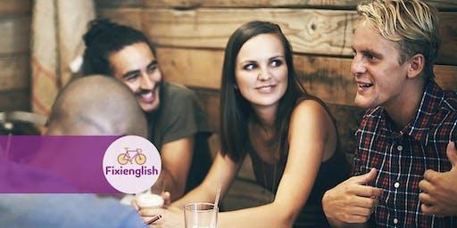 ENGLISH HOTSPOT    Actividad dirigida de Conversación en inglés