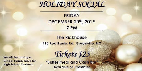 NPHC of Pitt County Holiday Social tickets