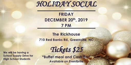 NPHC of Pitt County Holiday Social