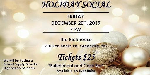 NPHC of Pitt County Holiday Social