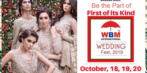 WBM Wedding Festival 2019 At Amanah Mall