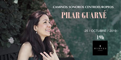 """Concierto Benéfico de Piano """"Caminos Sonoros Centroeuropeos"""" entradas"""