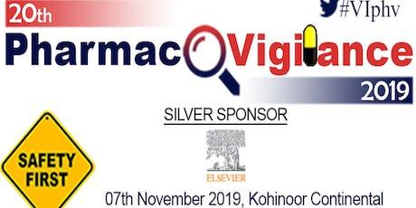 20th Pharmacovigilance 2019 tickets