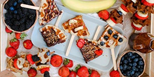 Vegan & Gluten-Free Waffle Workhop at London Healthiest Restaurant