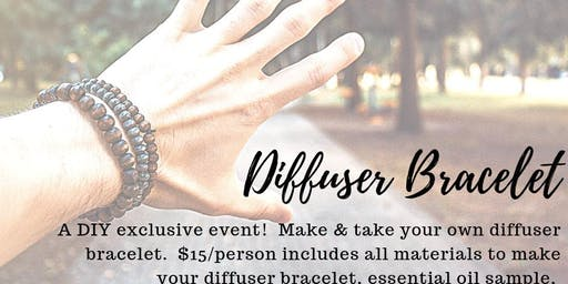 Make Your Own Diffuser Bracelet!