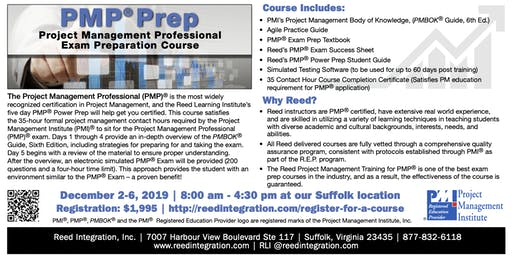 PMP Power Prep - Suffolk, VA -  December 2019