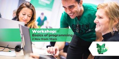 Workshop: Basics of programming