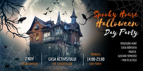 Spooky House Halloween Day Party tickets