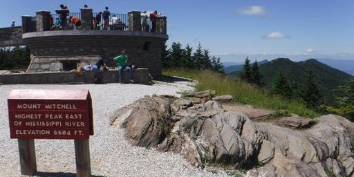 GetHiking! Midweek Assault on Mount Mitchell