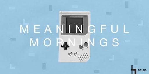 Meaningful Mornings: Fremtidens forbruger vil underholdes
