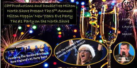 Doubletree Hilton Danvers Hoppin' New Years Eve(#1 Party On The North Shore) tickets