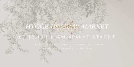 Hygge Holiday Market tickets