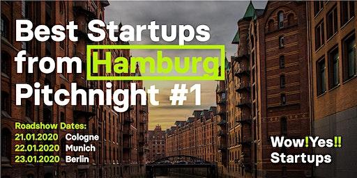 Best Startups from Hamburg Pitchnight #1 - Berlin