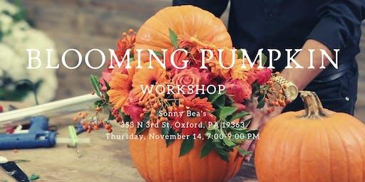 Blooming Pumpkin Workshop