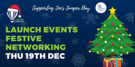 Launch Events Fesitve Networking - Leigh - 19th December tickets
