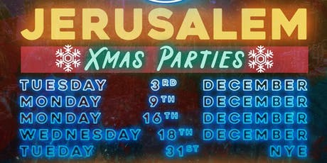 Sounds Familiar Music Quiz Christmas Party at Jerusalem tickets