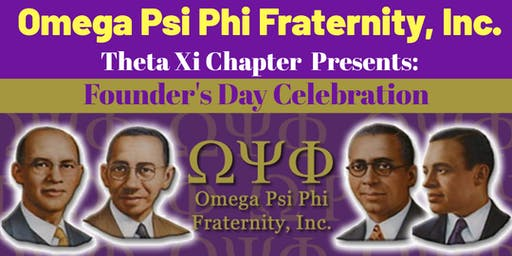 Omega Psi Phi Fraternity, Inc. Founder's Day Party
