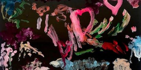 Vernissage peinture Florence Nerisson billets