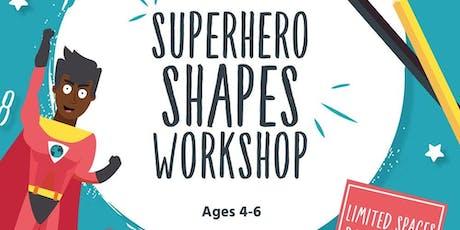 Superhero Shapes Free Maths Workshop Ages 4-6 at John Lewis, Cheltenham tickets